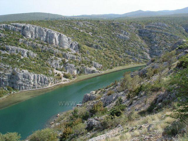 Zrmanja - kaňon řeky