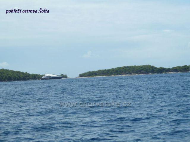 Šolta - pobřeží ostrova