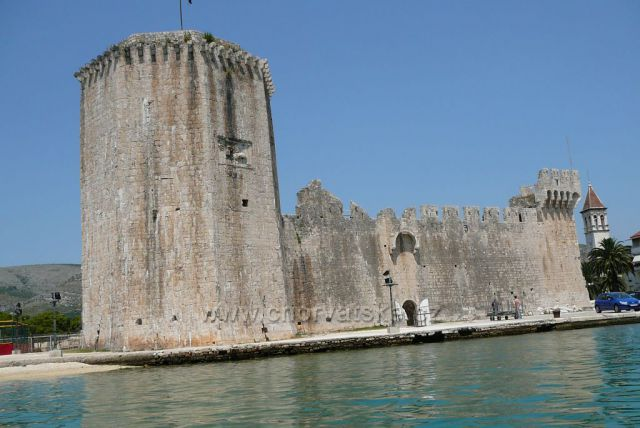 Trogir pevnost Kamerlengo ze 12.století