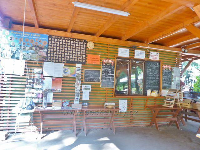Bečovská botanická zahrada - kiosek s občerstvením a suvenýry