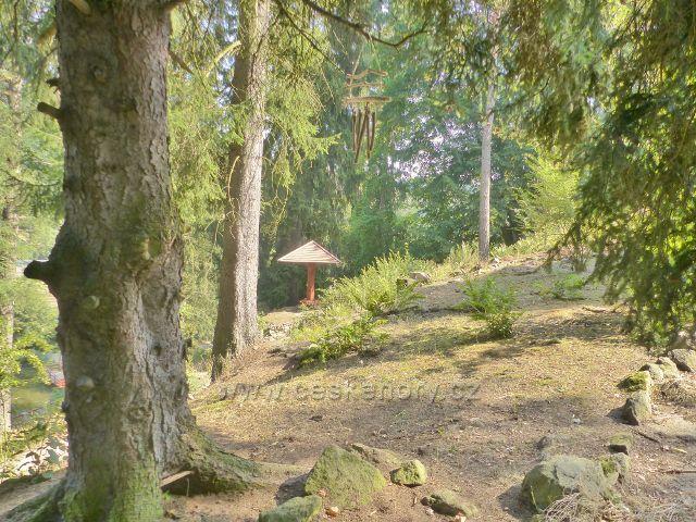 Bečovská botanická zahrada - nad rozhledovým místem