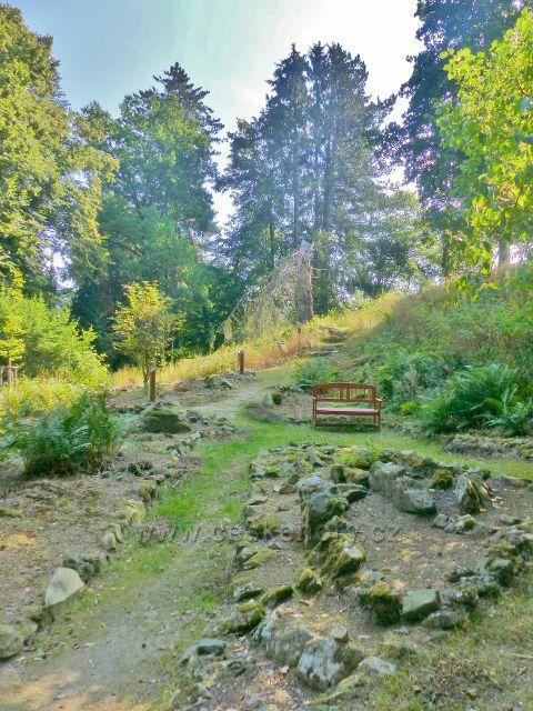 Bečovská botanická zahrada - odpočinkové místo