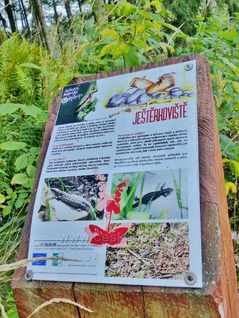 Bečovská botanická zahrada - panel Ještěrkoviště