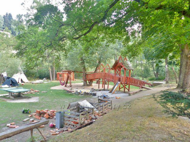 Bečovská botanická zahrada - volnočasová část