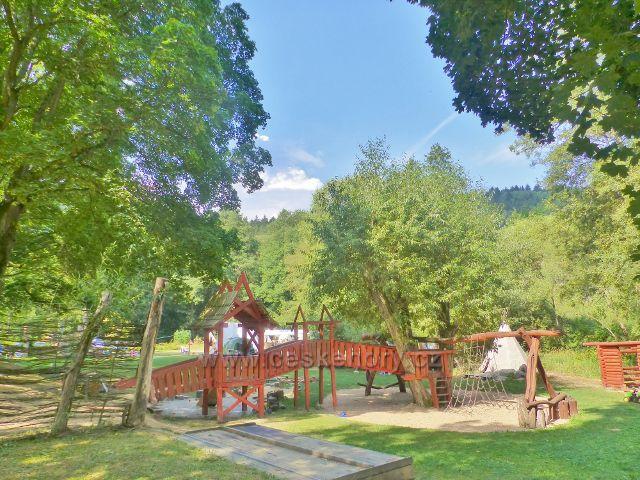 Bečovská botanická zahrada - areál volnočasových aktivit dětí