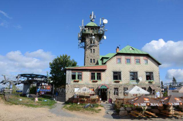 Tanvaldský Špičák (810m)- restaurace a rozhledna