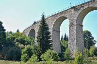 Smržovka-jeden z nejkrásnějších železničních viaduktů v Česku