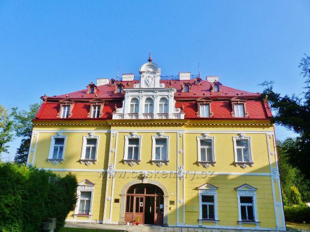 Aš - zámek, sídlo Městského muzea