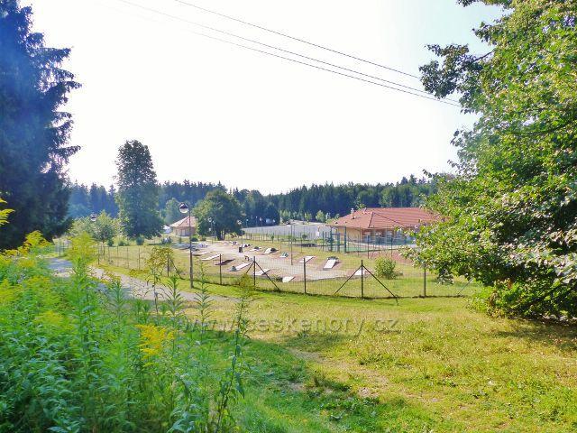 Aš - Park setkávání a sportu na vrchu Háj
