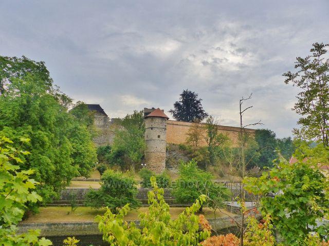Mlýnská věž z konce 15.století u Městských hradeb