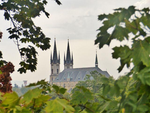 Cheb - kostel sv.Mikuláše a sv.Alžběty