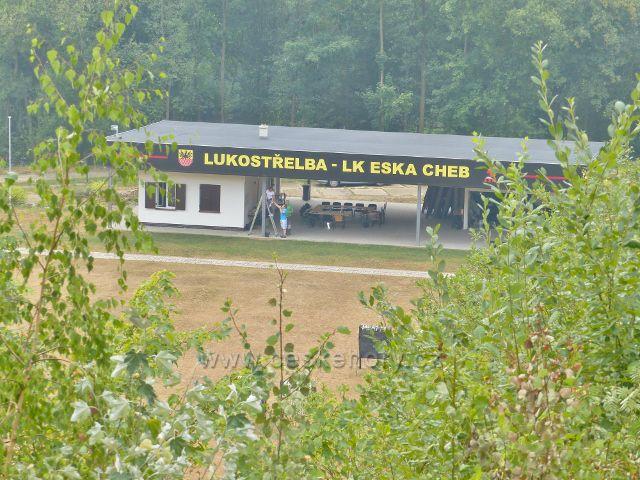 Cheb - Lukostřelnice ve sportovně rekreačním areálu Krajinky