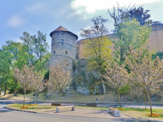 Cheb - Mlýnská věž