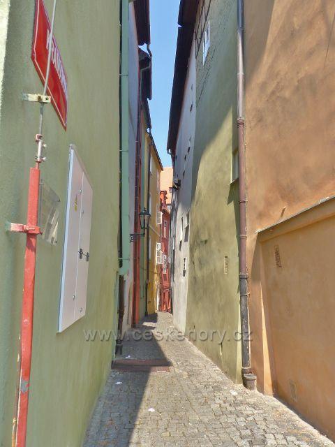 Cheb - Špalíček, Kramářská ulička