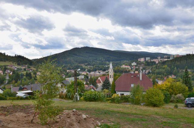 Pohled do údolí na Tanvald