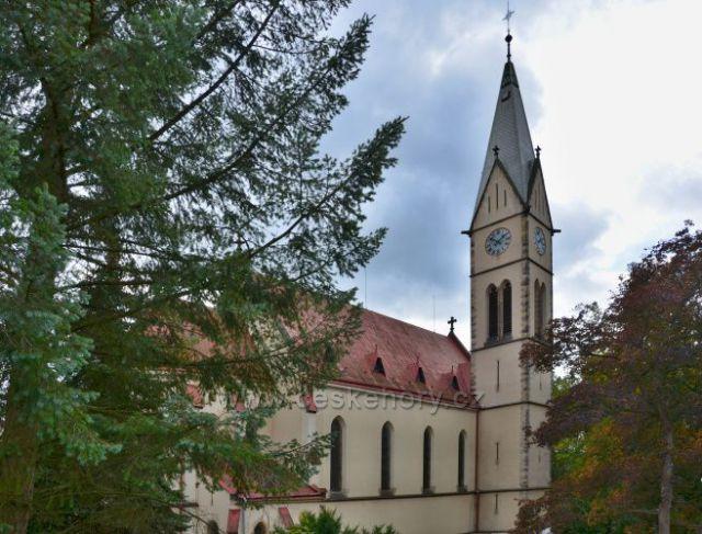 Tanvald-Kostel sv. Františka z Assisi