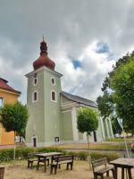 Seč - kostel svatého Vavřince