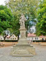Seč - zrestaurovaná soch sv.Jana Nepomuckého z počátku 18.STOLETÍ