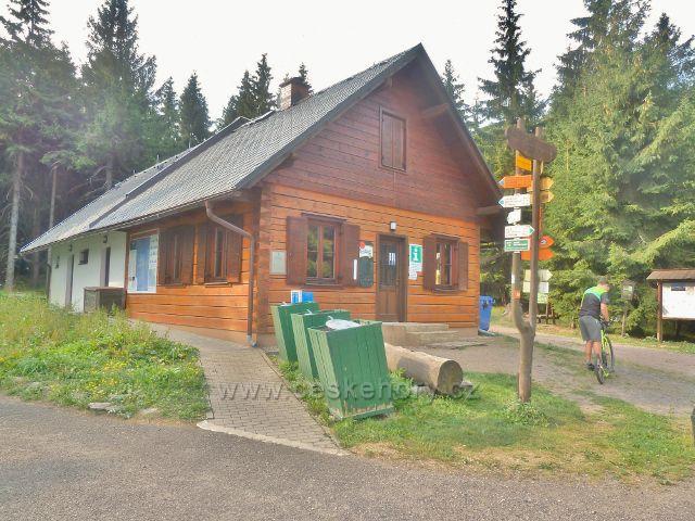 Suchý vrch - objekt TIC a občerstvení na Červenovodském sedle