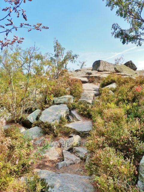 Suchý vrch - vyhlídkové místo nad Kramářovo chatou