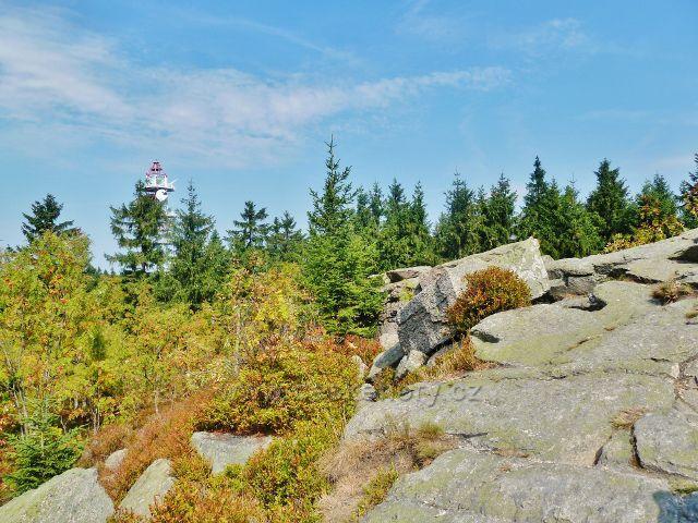 Suchý vrch - mrazový srub na vrcholu Suchého vrchu