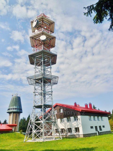 Suchý vrch - telekomunikační věž