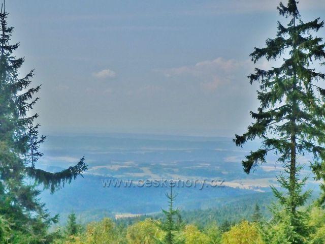 Suchý vrch - výhled od Kramářovy chaty