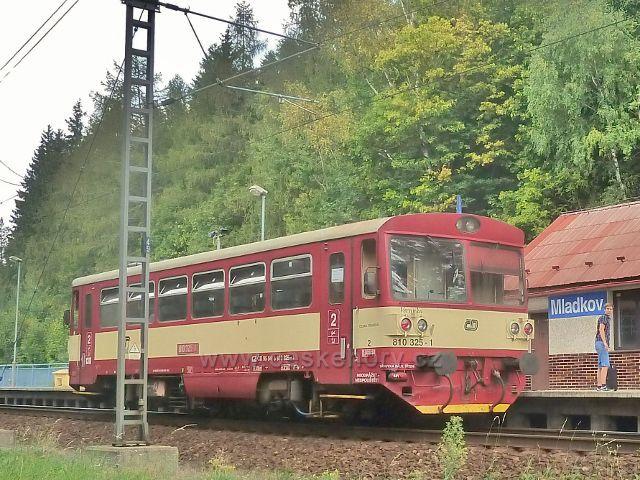 Mladkov - železniční stanice