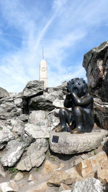 Dítě z Marsu a Rohanův kámen - Ještěd