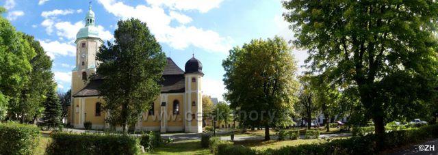Horní Blatná, kostel sv. Vavřince