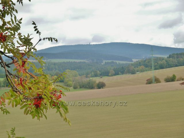 Bystřec - podzim pod Suchým vrchem
