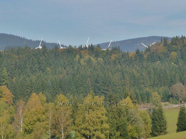 Ostružná - větrné elektrárny