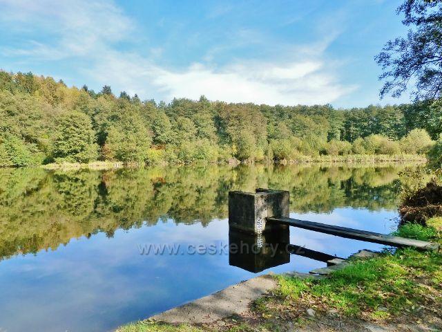 Žamberk - podzim na Dymlovském rybníku