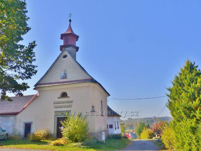 Vlčkovice - kaple Narození Panny Marie