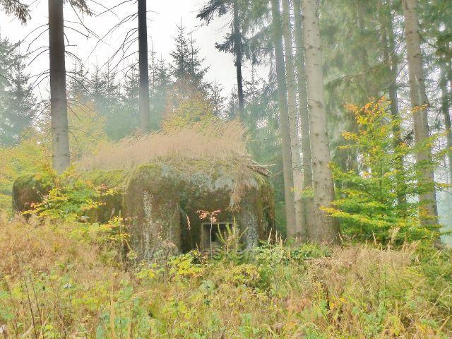 Mladkov - řopík pod Mladkovskou bunkrovkou na úbočí vrchu Vysoký kámen
