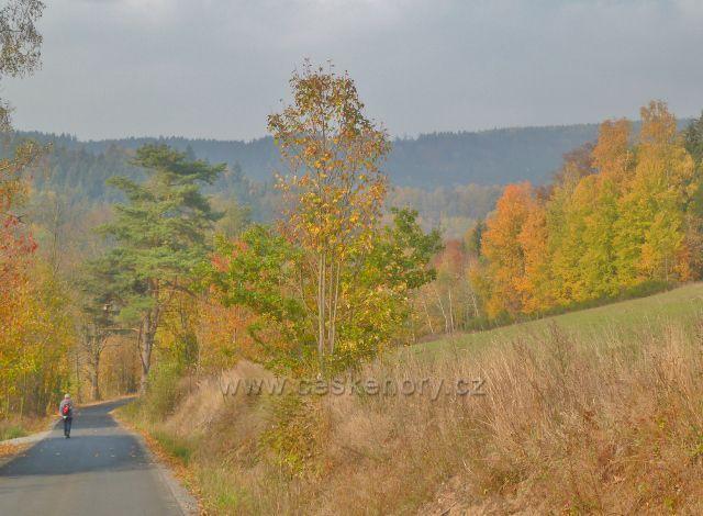 Mladkov - barevný podzim na Mladkovské bunkrovce