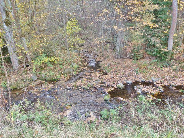 Malá Morava - ústí Vysokého potoka do řeky Moravy