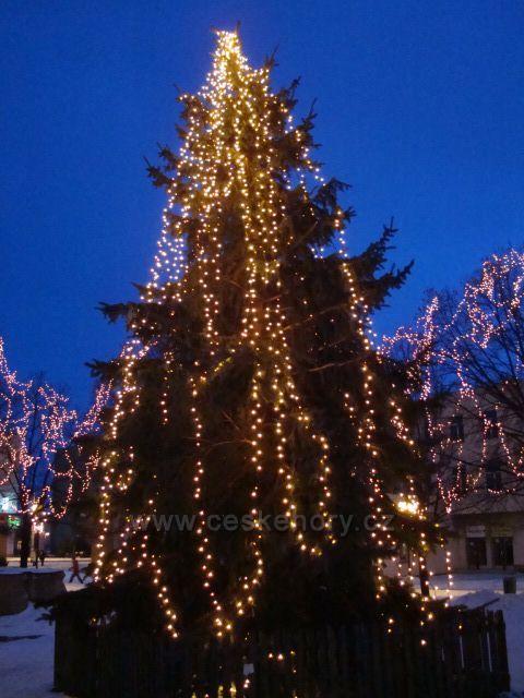 Vánoční Jirkoské náměstí.
