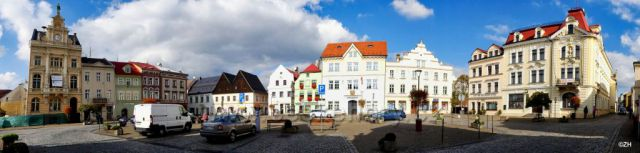 Česká Kamenice - Mírové náměstí