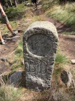 Trojmezí - hraniční kámen
