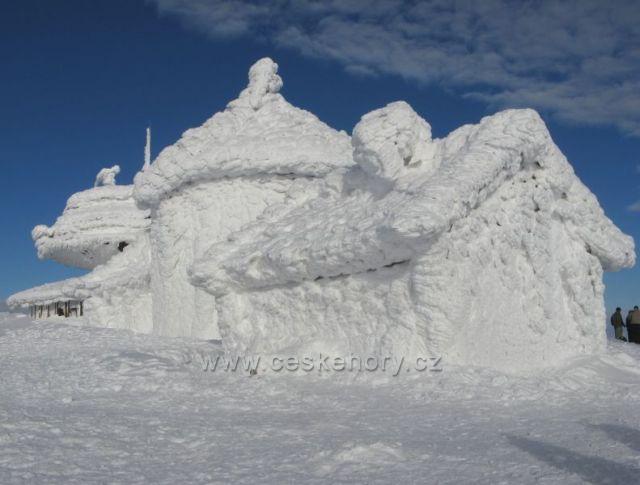 Na vrcholu Sněžky