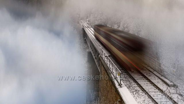 Železniční most Krušné hory