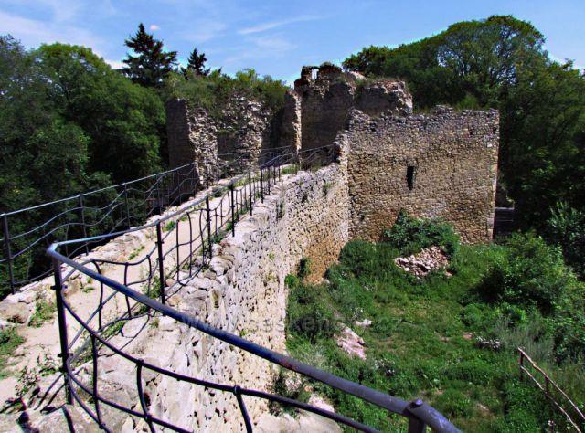 Buchlovskými horami k hradu Cimburk a skále Kozel