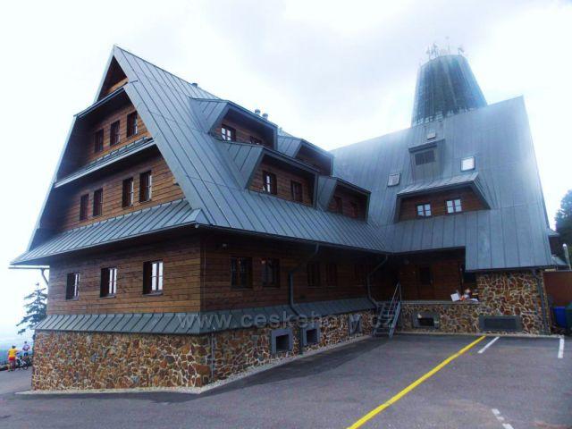 Chata, restaurace na Suchém vrchu