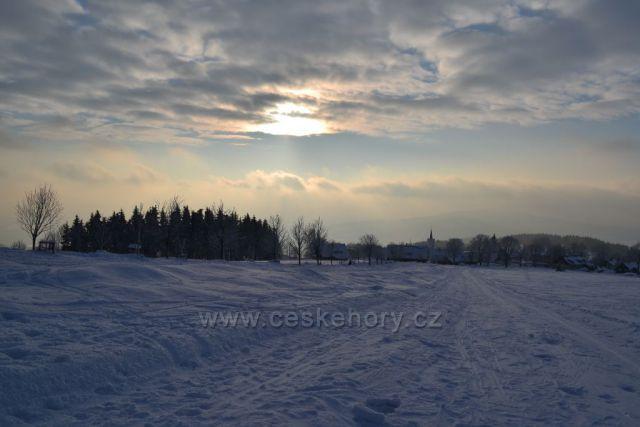 Zima v Příchovicích
