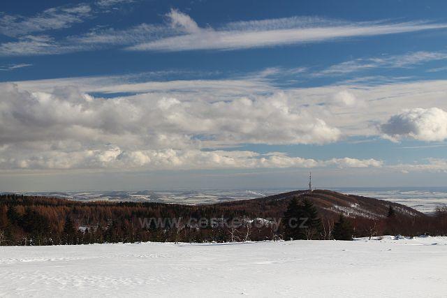 Jedlová hora z Lesné