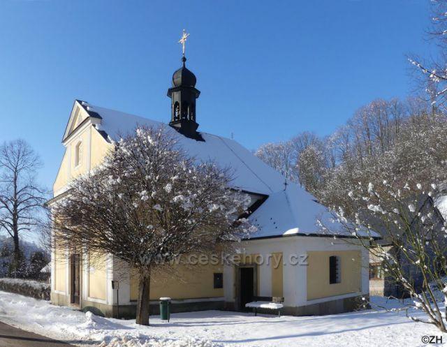 Černovír, kaple sv. Gotharda