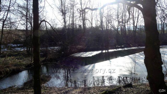 Rybník na Knapoveckém potoce