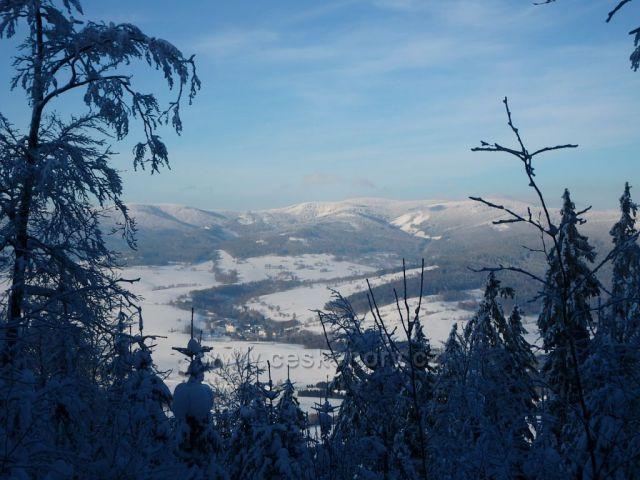 výhled na Krakický sněžník