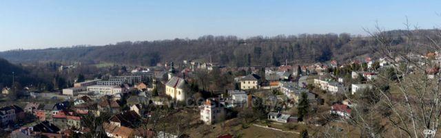 Brandýs n. O., panorama